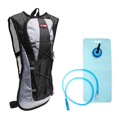 AU20.53 • Buy Outdoor Hiking Cycling 2L Water Bag Bladder Hydration Pack Backpack