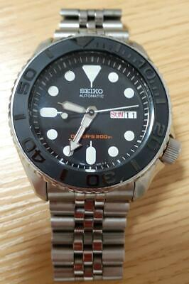 $ CDN618.05 • Buy Seiko Skx007 Black Boy Custom Mod Self-Winding