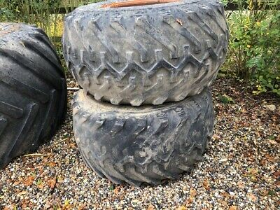 Tractor Terra Tyres X 4 - Front And Back For New Holland 8340 • 1,000£