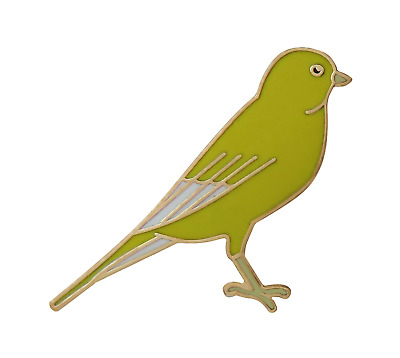 Canary Pin Badge • 4.50£
