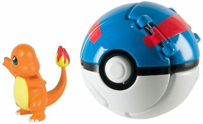 Pokemon Charmander Pop/Throw Great Ball Toy For Kids - Christmas Gift- New- AGE  • 8.50£