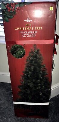 Morrisons Green Artificial Christmas Tree 🎄 6ft • 6.99£