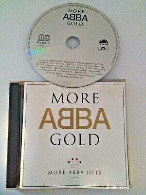 ABBA More Abba Gold Best Of Greatest Hits Collection Polar Polydor 20 Track CD • 1£