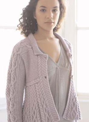 £1.99 • Buy Knitting Pattern - Ladies Ladies Aran Cable Cardigan- Fits Chest 32- 40 Inches