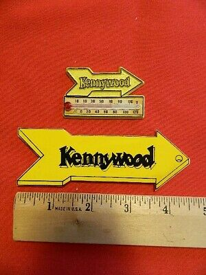 $5.99 • Buy Lot Of 2 Vintage Pittsburgh Kennywood Amusement Park Magnets Thermometer Arrow