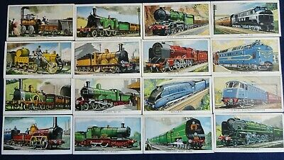 Collectable Trade Cards Kellogg Cereals The Story Of The Locomotive 1963 • 5.99£