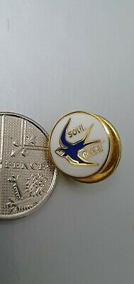 Cardiff City, Football Badge, Soul Crew, Hooligans, Small Discreet, Wales • 1.50£
