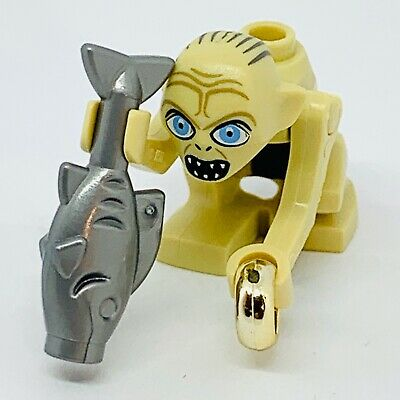 Lego Gollum (wide Eyes) Minifigure (Lord Of The Rings) (9470) • 11.50£