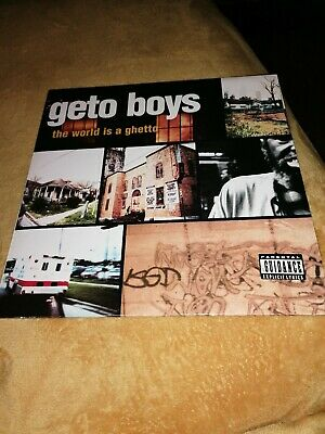 Geto Boys - The World Is A Ghetto. 12  Hip Hop /rap Record/vinyl • 7£