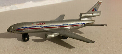 Matchbox SB 13 DC 10 Diecast 1973 American Airlines Toy Plane • 3£