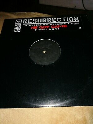 Public Enemy - He Got Game/resurrection. 12 .hip Hop Record/vinyl • 2£