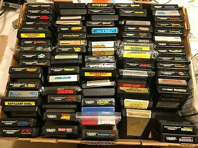 $ CDN8 • Buy Colecovision Games - Pick Your Favourites! 100 To Choose From Coleco ADAM