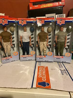 $ CDN114.45 • Buy Gi Joe Lot Of 4 Action Figures  12 Inches With Weapons