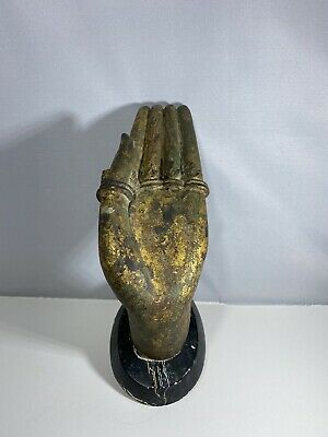 A Gilt-bronze Fragment Of Buddha's Hand Ming Dynasty, 15th - 16th Century • 8.47£