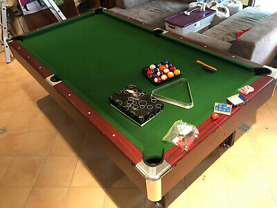 AU300 • Buy 8ft Pool Table Pub Size Mdf Snooker Billiard Table With Table Tennis Table