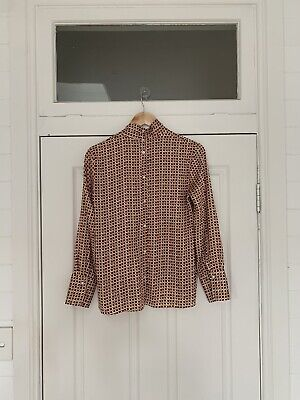 AU32 • Buy ZARA | Womens Patterned Blouse / Shirt Top [ Size XS Or AU 8 / US 4 ]