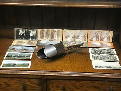 £229 • Buy Vintage Keystone Stereoscope Viewer With 14 Photos [6788]