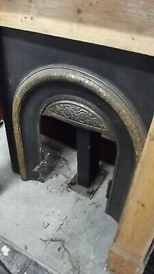 Cast Iron Victorian Style Fire Surround / Fireplace Insert, Arched  • 99£