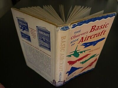 The Observer's Book Of Basic Aircraft - Military • 0.01£