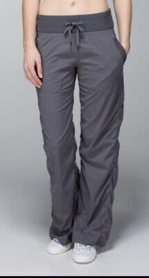 $ CDN85 • Buy LULULEMON ATHLETICA Gray Dance STUDIO PANTS *No Liner Size 4-6 SMALL