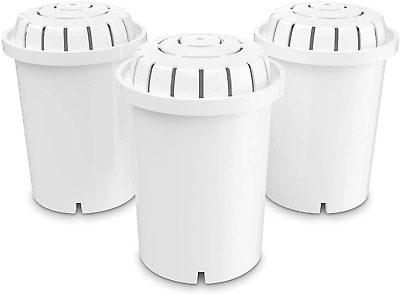 Alkaline Water Filter Replacement Ionized Cartridge Invigorated Living Jug 3Pack • 55.99£