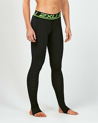 2XU Men's Power Recovery Compression Tights - Black / Nero Size Large VR257 013 • 69.99£