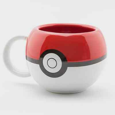 Nintendo Pokemon Pokeball 3D Mug • 9.51£