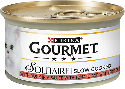 Gourmet Solitaire Duck And Vegetables, 85 G - Pack Of 12 • 12£