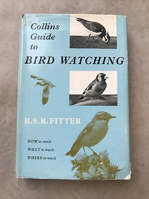£4 • Buy Collins Guide To Bird Watching R.S.R.Fitter Book Hardback 1963