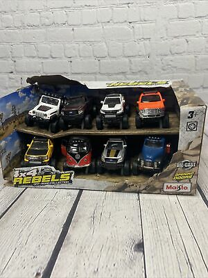$ CDN36.29 • Buy MAISTO 4 X 4 REBELS OFF ROAD COLLECTION 8 PACK - Damaged Packaging - O4