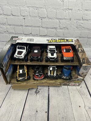 $ CDN37.97 • Buy MAISTO 4X4 REBELS OFF ROAD COLLECTION 8 PACK - Damaged Packaging - O4