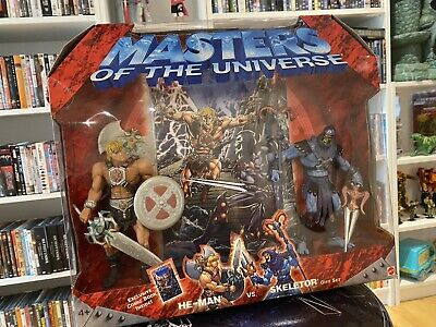 $70 • Buy Masters Of The Universe 200x He-Man Skeletor 2-Pack (MIB)