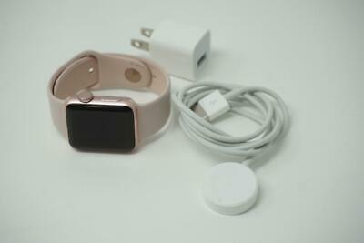 $ CDN168.98 • Buy Apple Watch Series 2 38mm Rose Gold Aluminum Pink Band MNNY2LL/A Used B1135