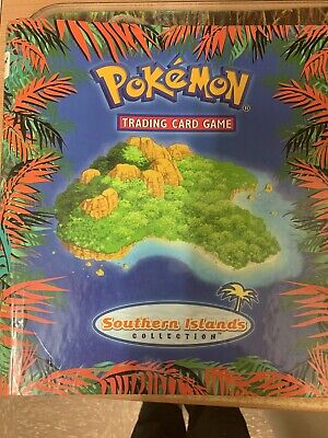 Pokemon Southern Islands Complete Set Original Binder & Set List Mint/Near Mint • 102£