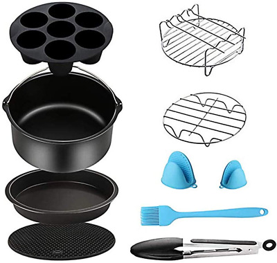 AU47.17 • Buy Air Fryer Accessories For Cosori Ninja And Philips, Set Of 5/9, Fit All 3.7Qt -