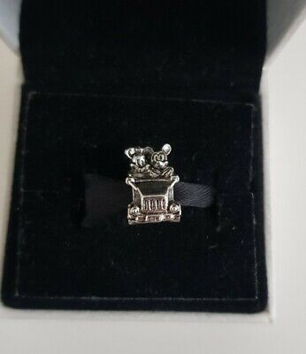 Mickey Mouse And Minnie In Car Charm Pandora Size Gift  • 4.50£