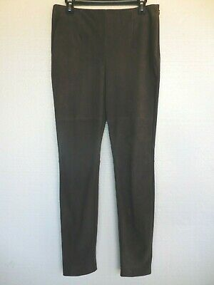 $ CDN43.29 • Buy Bagatelle Collection Brown Leather & Ponte Knit Skinny Pants Size Medium EUC