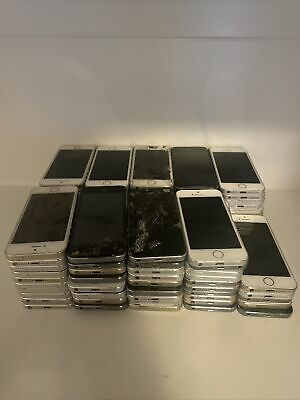$ CDN1144.52 • Buy 95x Lot Apple IPhone 5s - Mixed GB / Carrier - Silver, Space Gray, Gold As Is 3J