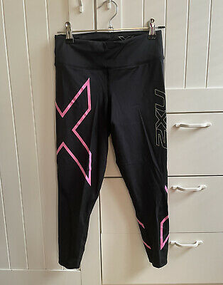AU0.99 • Buy 2xu Compression Tights 3/4 Length Size Small
