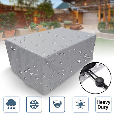 AU37.74 • Buy Heavy Duty Waterproof Outdoor Furniture Cover Yard UV Garden Table Chair Shelter