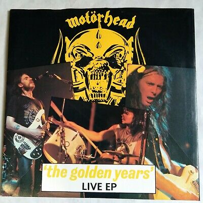 Motorhead The Golden Years 7  Single Live EP Mint Unplayed Stock Copy 4 Prong • 12£