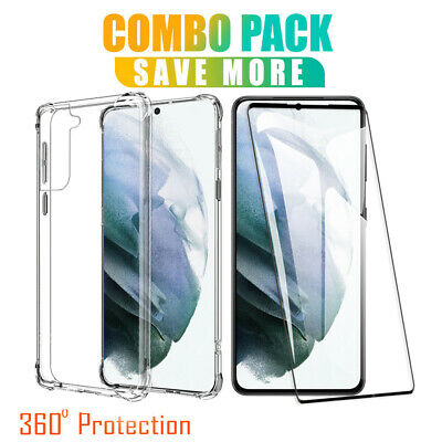 AU9.99 • Buy For Samsung Galaxy S21 S20 Ultra S21+ Plus S10 S9 S8 Shockproof Clear Case Cover
