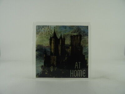CRYSTAL FIGHTERS AT HOME (A80) 3 Track Promo CD Single Picture Sleeve SHAMROCK S • 3.28£