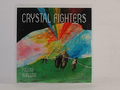 CRYSTAL FIGHTERS FOLLOW SWALLOW (E57) 2 Track Promo CD Single Picture Sleeve • 3.29£