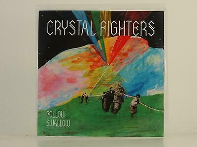 CRYSTAL FIGHTERS FOLLOW SWALLOW 2 Track Promo CD Single Picture Sleeve • 3.27£