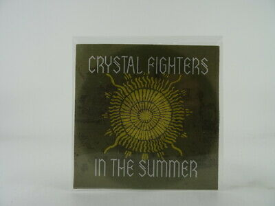 CRYSTAL FIGHTERS IN THE SUMMER (B27) 1 Track Promo CD Single Picture Sleeve • 2.88£