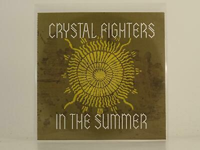 CRYSTAL FIGHTERS IN THE SUMMER 1 Track Promo CD Single Picture Sleeve • 2.87£