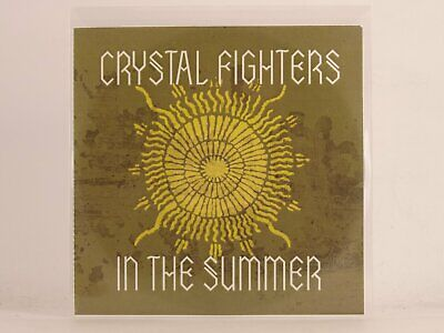 CRYSTAL FIGHTERS IN THE SUMMER (A50) 1 Track Promo CD Single Plastic Sleeve • 3.28£