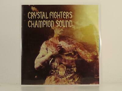 CRYSTAL FIGHTERS CHAMPION SOUND 4 Track Promo CD Single Picture Sleeve ZIRKULO • 3.27£