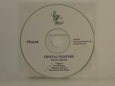 CRYSTAL FIGHTERS XTATIC TRUTH 4 Track Promo CD Single Plastic Sleeve • 3.27£